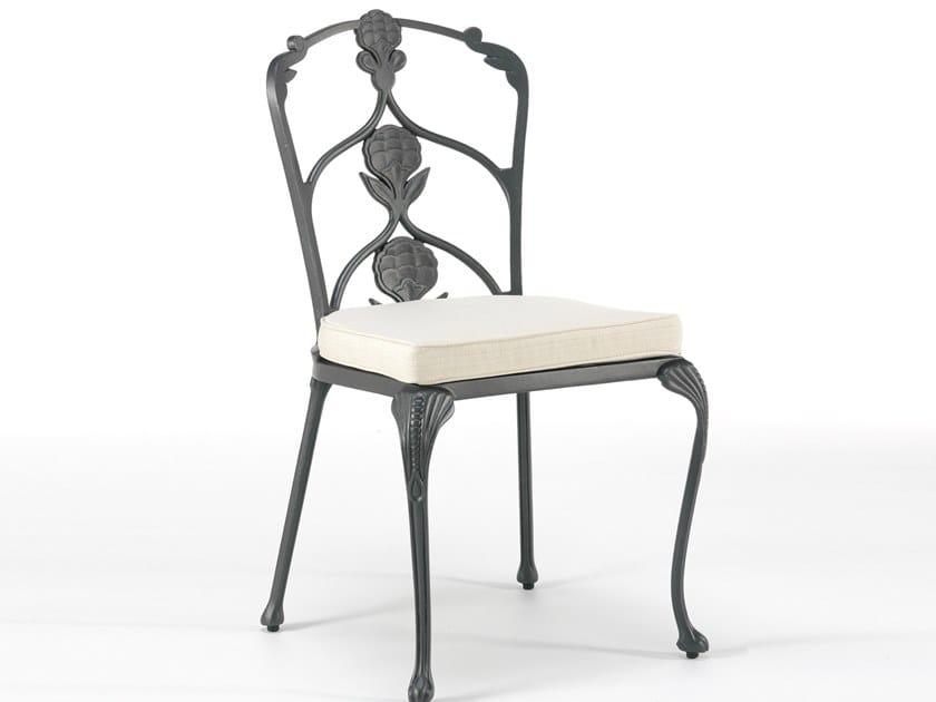 Aluminium garden chair with integrated cushion BARRINGTON   Chair by Oxley's Furniture