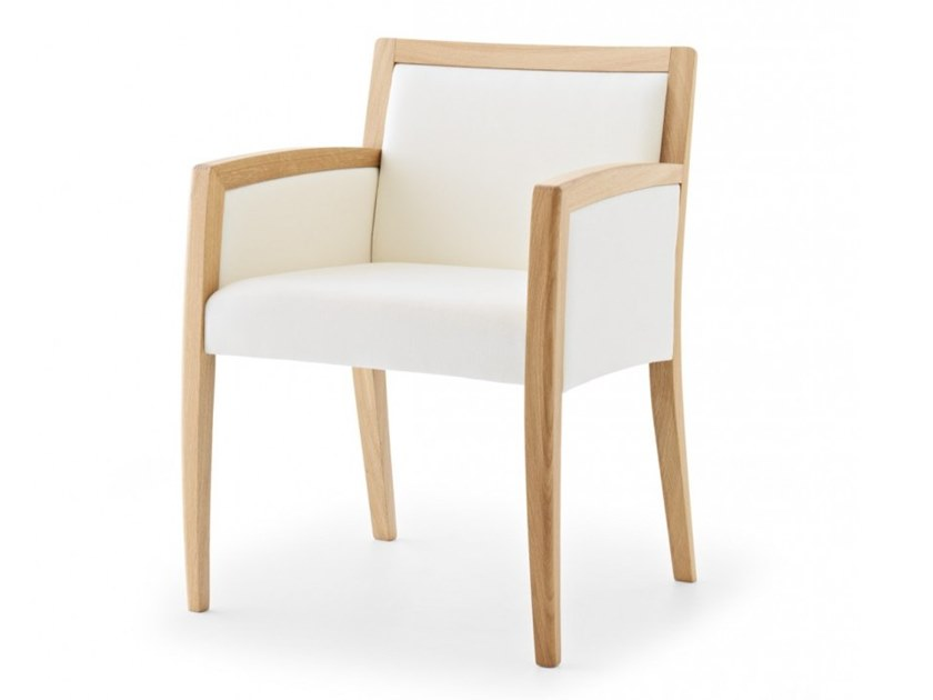 Armchair with armrests DELPHI | Armchair with armrests by Passoni