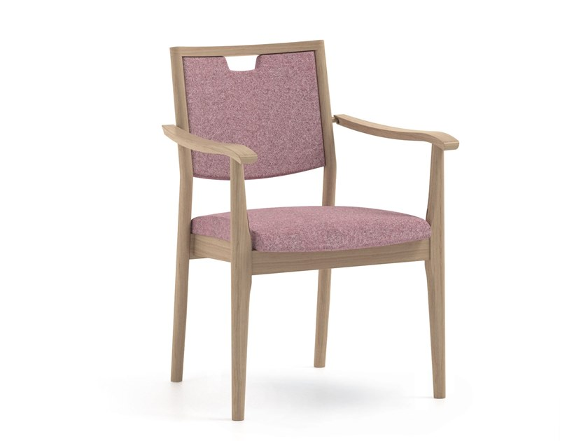 Fabric chair with armrests BEPI | HEALTH & CARE | Chair with armrests by PIAVAL