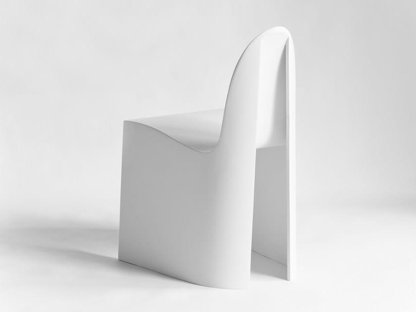 Plywood chair ALBA   Chair by Planbureau