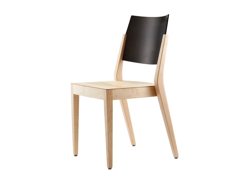 Stackable wooden chair KOLLEKTION.58 | Chair by rosconi