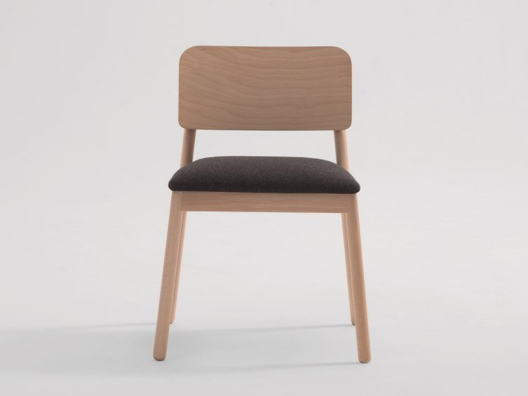 Upholstered chair LAKY | Chair by SF Collection
