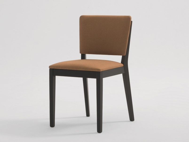 Upholstered fabric chair POSH | Chair by SF Collection