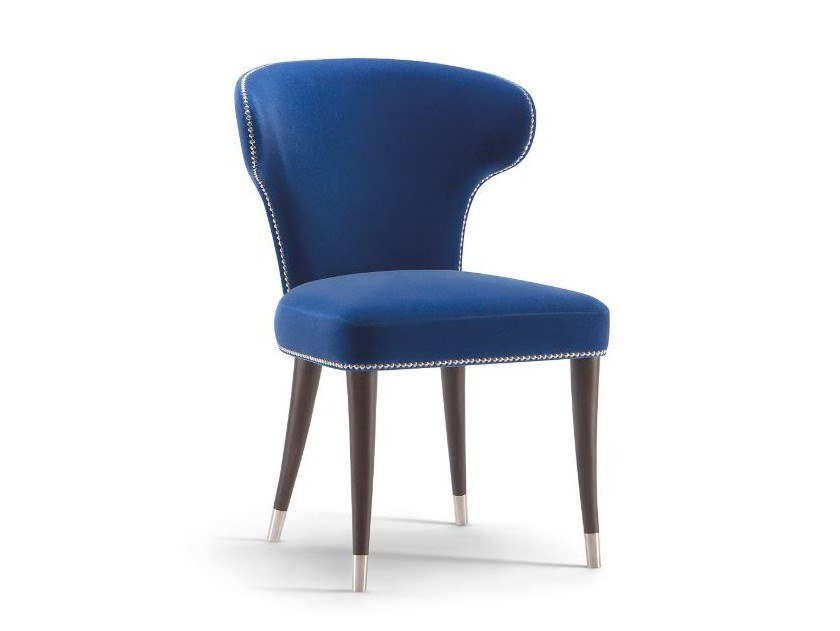 Upholstered fabric chair CAMELIA | Chair by Tirolo