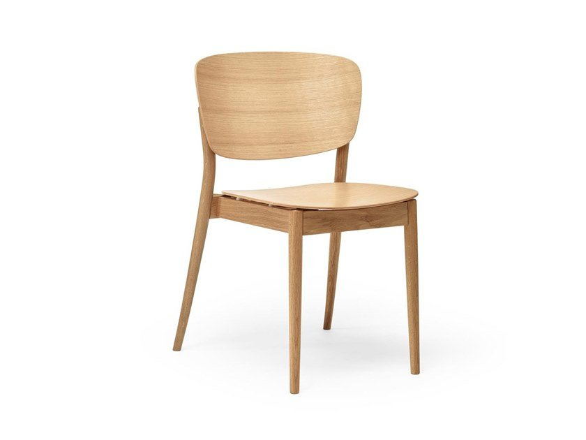 Stackable wooden chair VALENCIA | Chair by TON