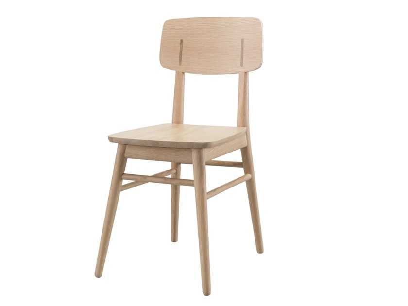 Wooden restaurant chair COUNTRY | Chair by Wewood