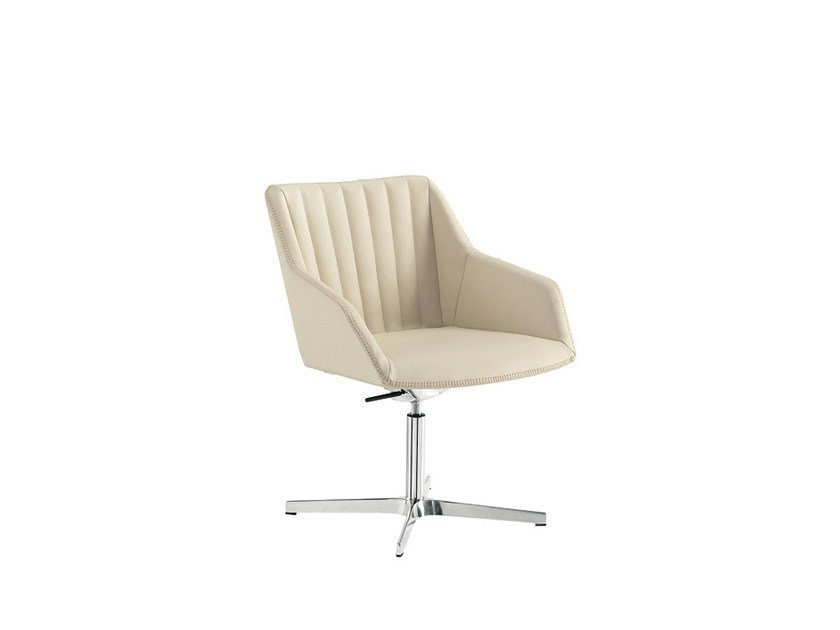 Height-adjustable reception chair DAMA STRIP   Height-adjustable chair by Sesta