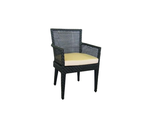 Garden chair with armrests PALM SPRINGS | Chair with armrests by 7OCEANS DESIGNS
