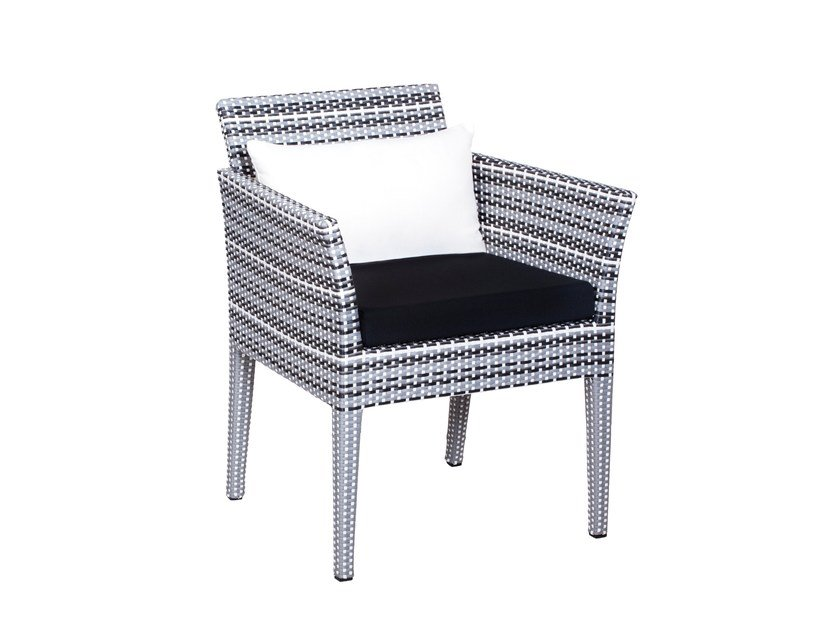 Restaurant chair with armrests PRAGUE | Chair with armrests by 7OCEANS DESIGNS