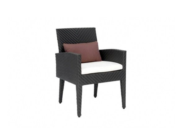 Garden chair with armrests ARLINGTON | Chair with armrests by 7OCEANS DESIGNS