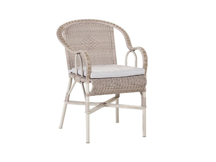 Polyethylene Chair With Armrests MARCEL OUTDOOR | Chair With Armrests By  Kok Maison