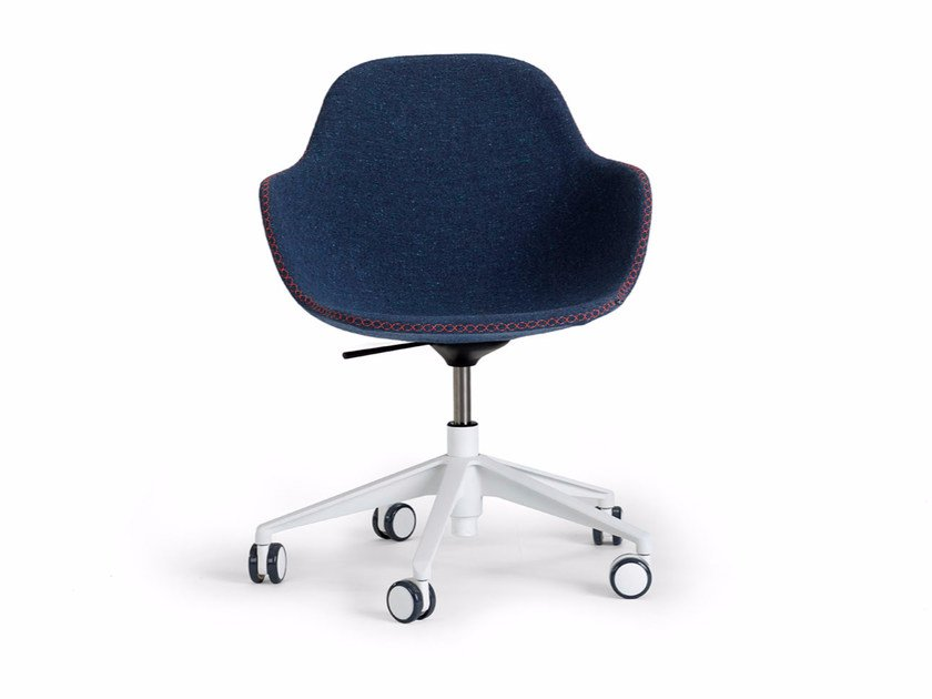 Chair with adjustable frame PALMA MEETING | Swivel chair by Offecct