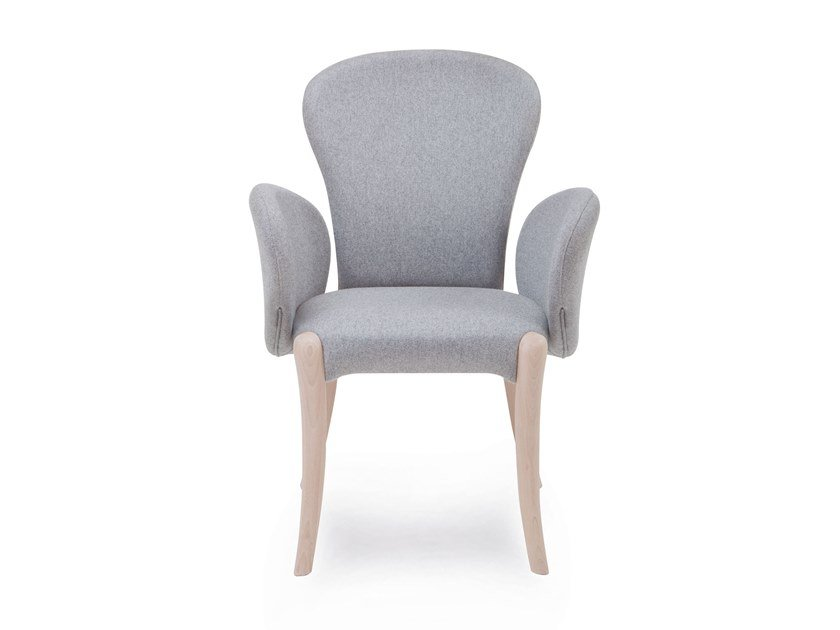 Fabric chair with armrests ROSA | HEALTH & CARE | Chair with armrests by PIAVAL