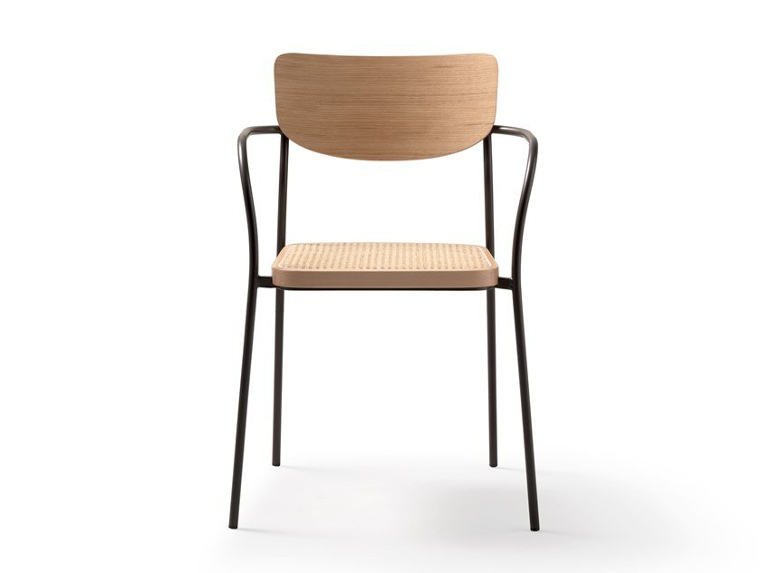 Chair with armrests AMANDA | Chair with armrests by Quinti Sedute