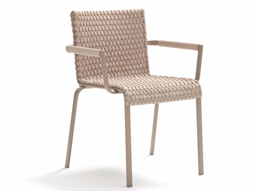 Garden chair with armrests KEY WEST | Chair with armrests by Roberti Rattan