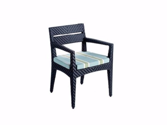 Restaurant chair with armrests PANAMERA | Chair with armrests by 7OCEANS DESIGNS