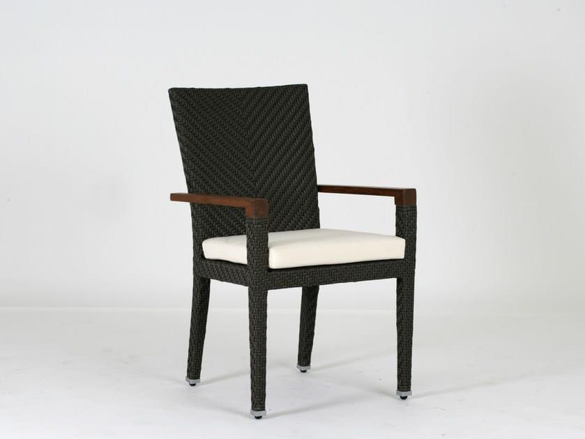 Sedia da giardino con braccioli ALPINE | Sedia con braccioli by 7OCEANS DESIGNS