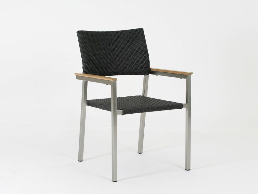 Restaurant chair with armrests SOFITEL | Chair with armrests by 7OCEANS DESIGNS