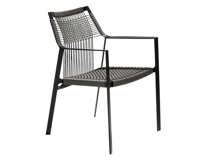 Canax® Garden Chair With Armrests NODI | Chair With Armrests By TRIBÙ