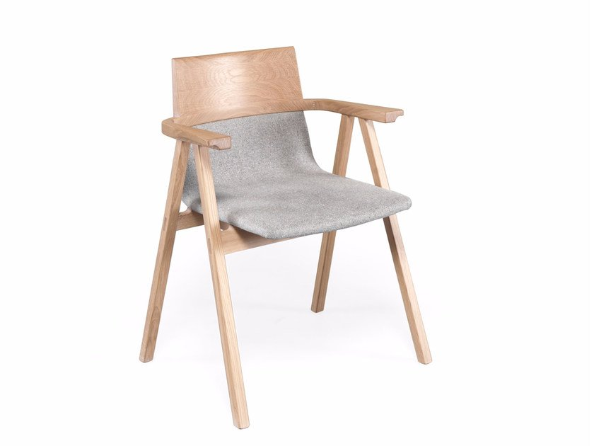 Chair with armrests PENSIL | Chair with armrests by Wewood