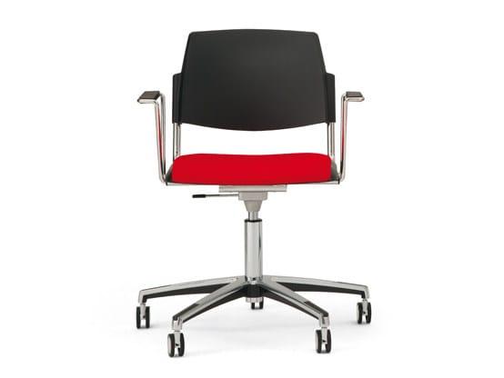 VolÉe easy soft sedia con ruote collezione volée easy soft by