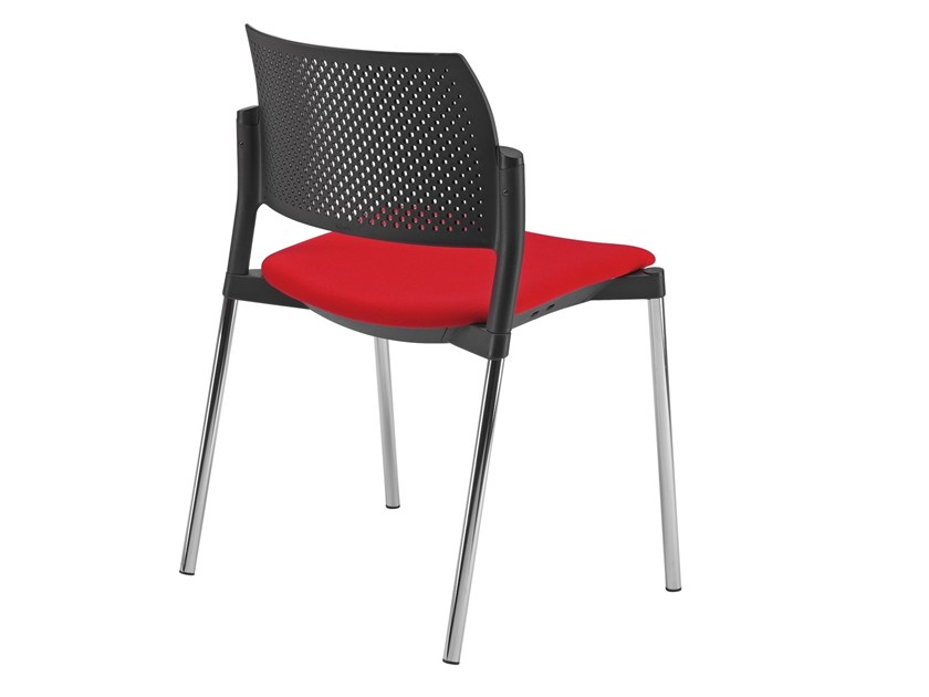 Open back chair with integrated cushion KYOS | Chair with integrated cushion by Kastel