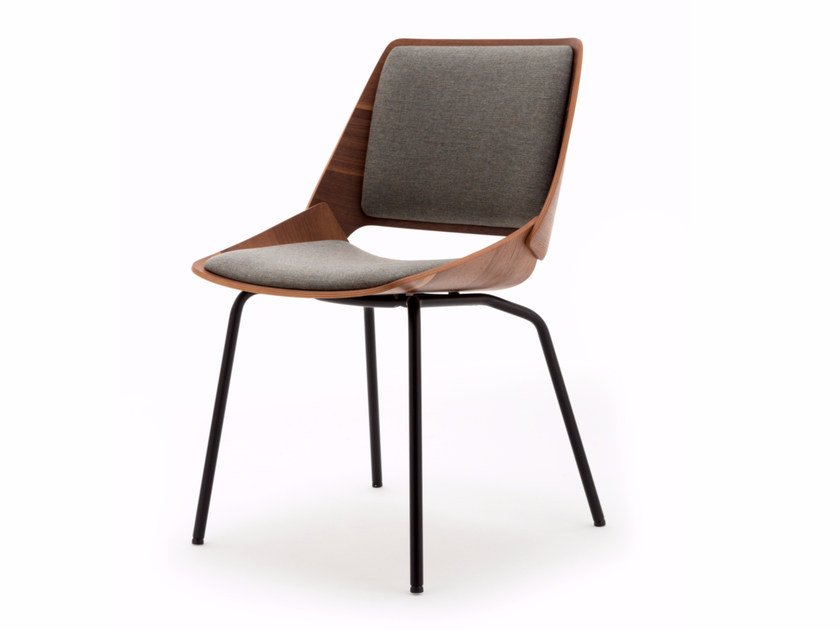 Chair with integrated cushion ROLF BENZ 650 | Chair by Rolf Benz