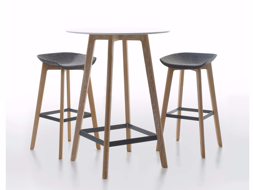 Rectangular HPL high table CHAIRMAN | High table by conmoto
