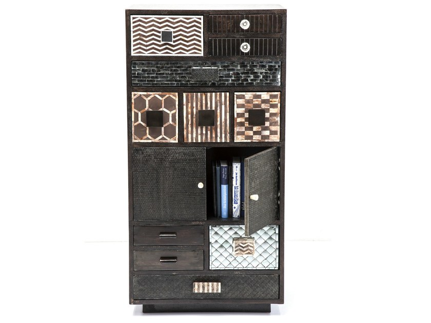 Lacquered highboard with drawers CHALET COPPER | Highboard by KARE-DESIGN