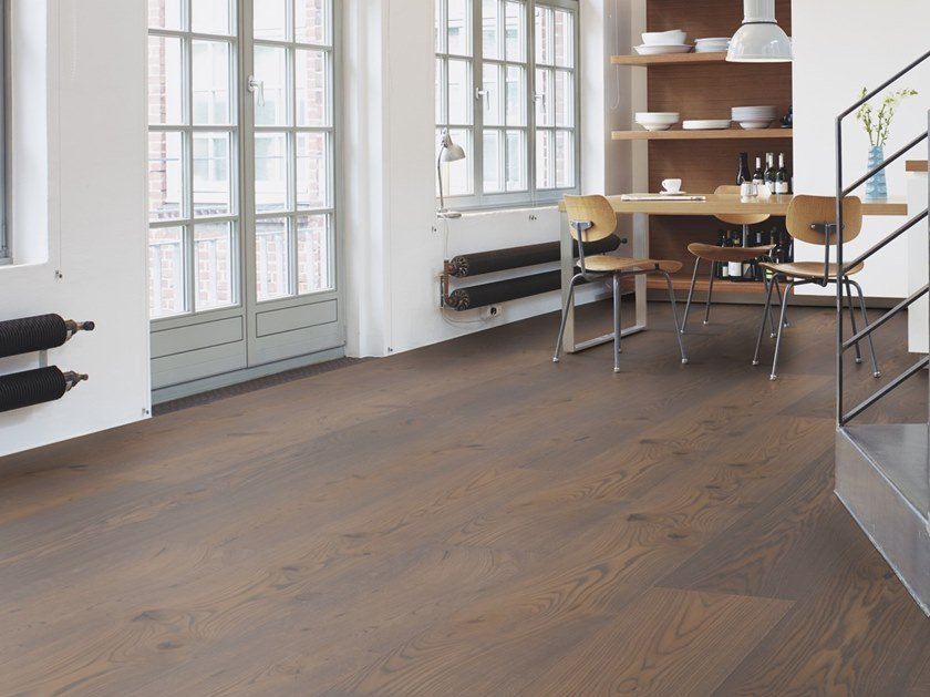 Parquet 3 strati in rovere CHALET ROVERE GREY PEPPER by BOEN
