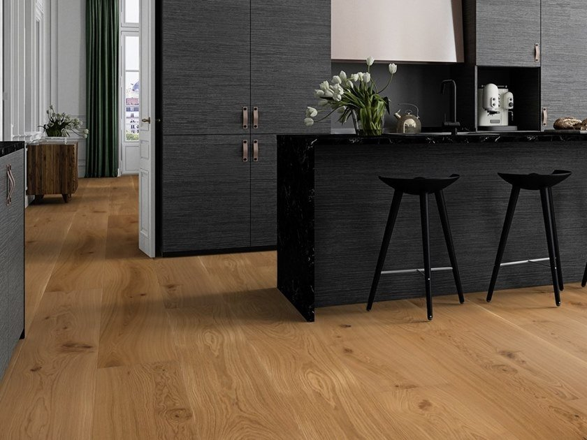 Parquet 3 strati in rovere CHALET ROVERE TRADITIONAL by BOEN