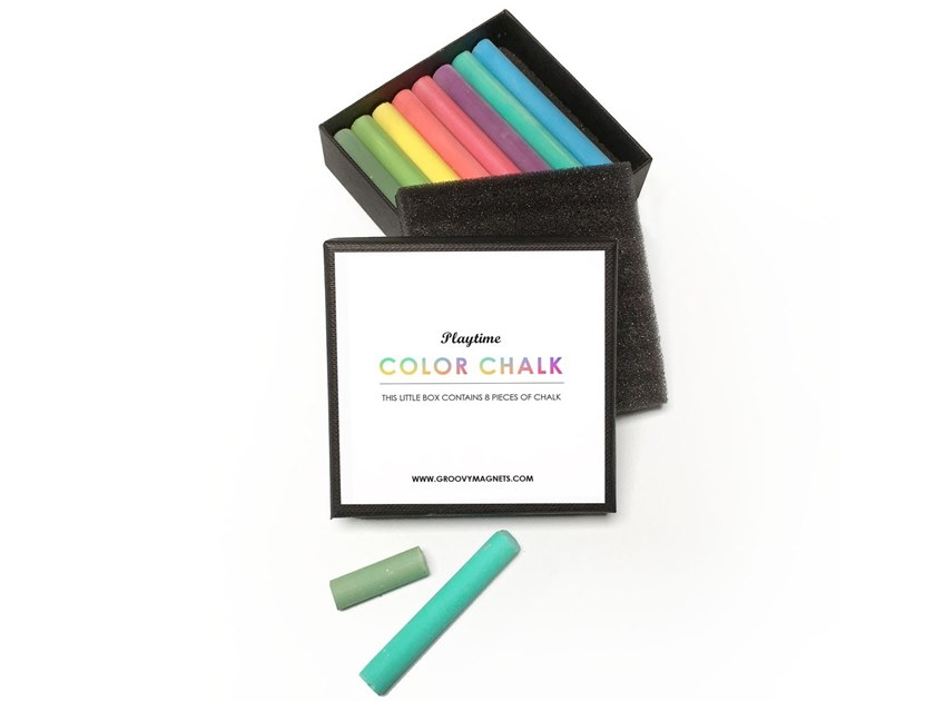 Chalk CHALK - COLORED by Groovy Magnets