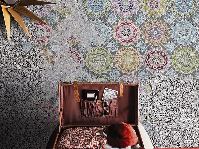 Motif wallpaper CHALKS by Wall&decò