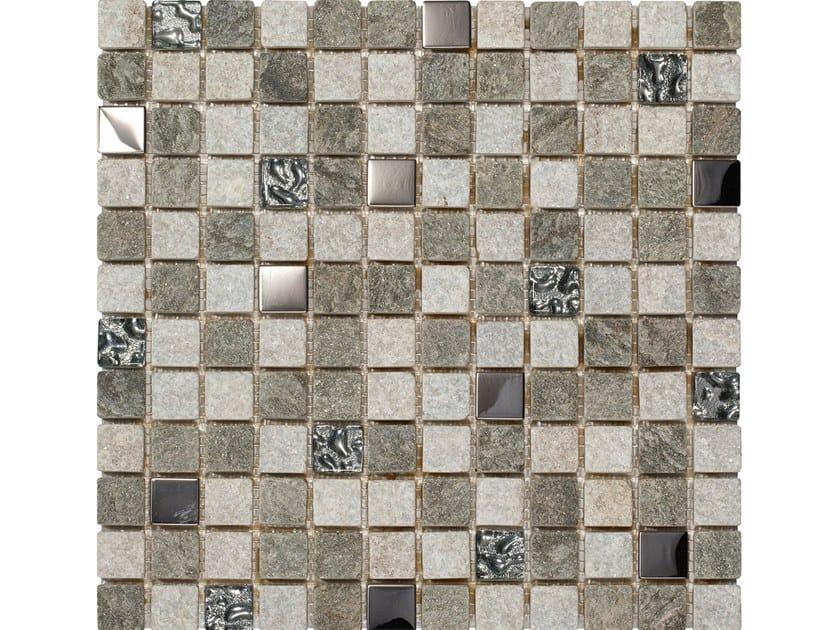 Marble mosaic CHAMONIX by BOXER