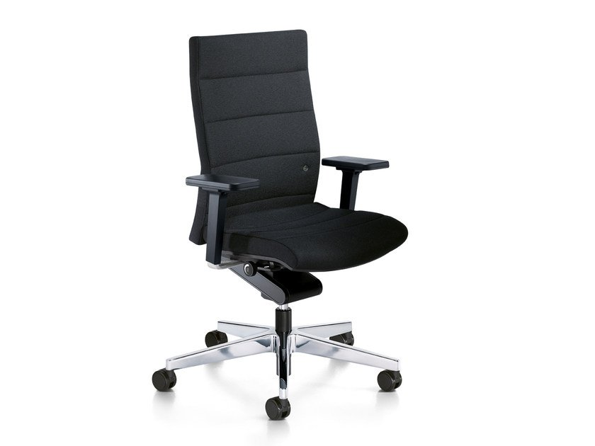 Ergonomic swivel fabric task chair CHAMP 3C02 by Interstuhl