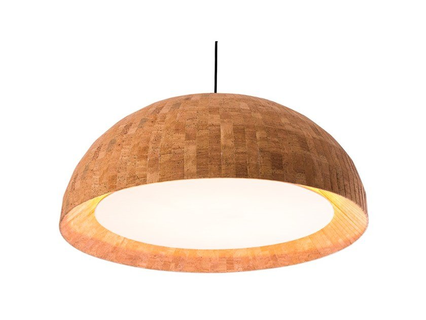 Cork pendant lamp CHAMPAGNE by Flam & Luce