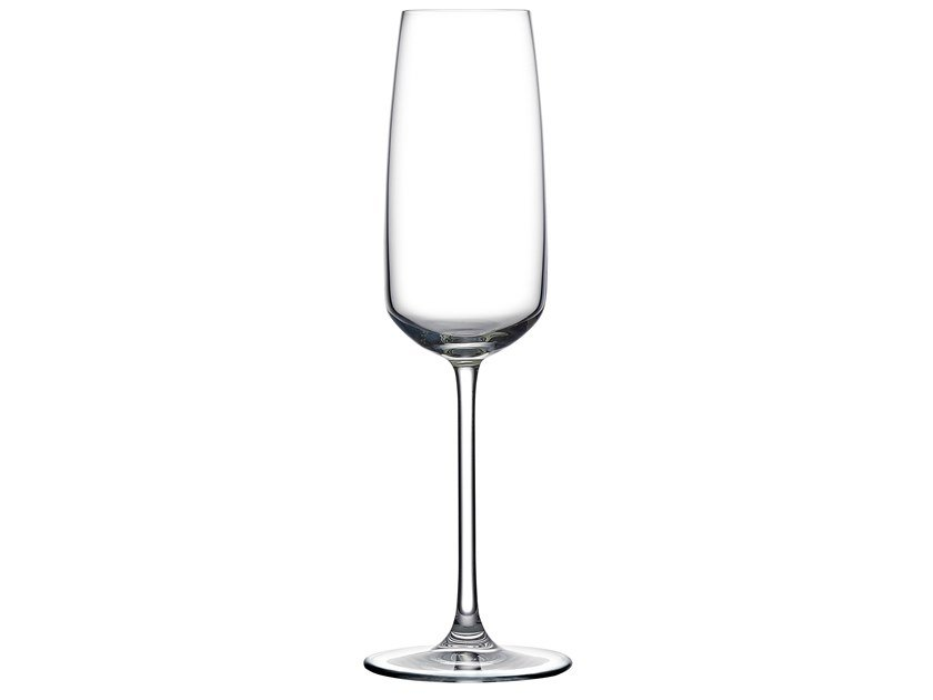 Set of 2 Champagne Glasses MIRAGE | Champagne glass by NUDE