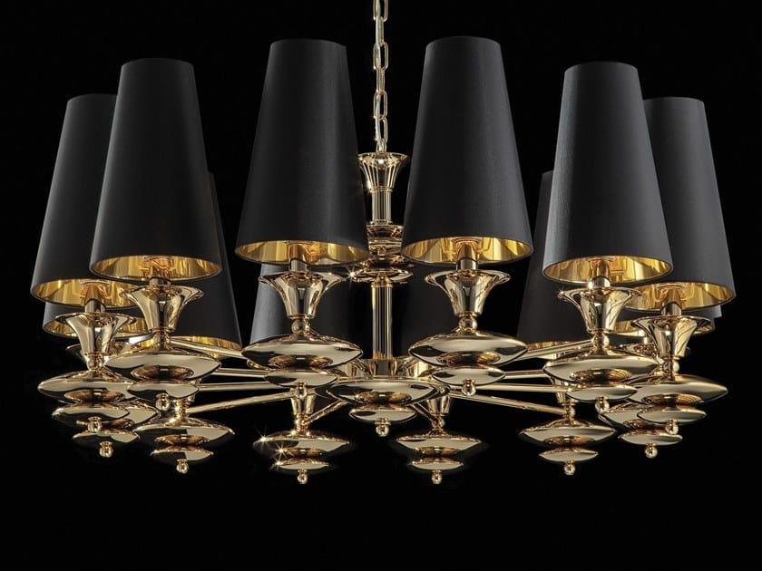 LED indirect light chandelier SCARLETT | Chandelier by Aiardini