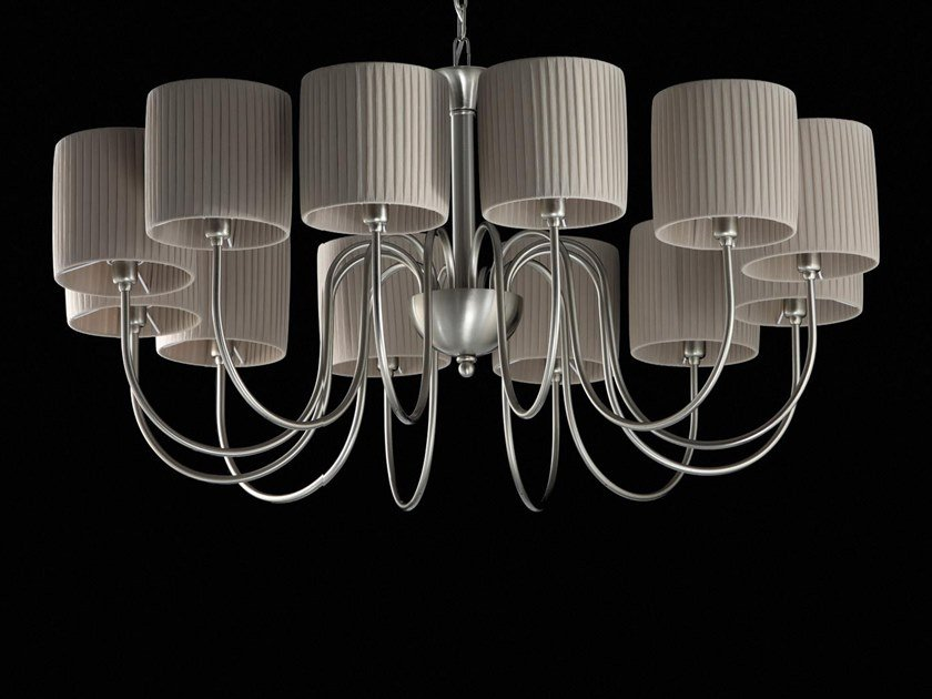 LED indirect light chandelier CAMILLA | Chandelier by Aiardini