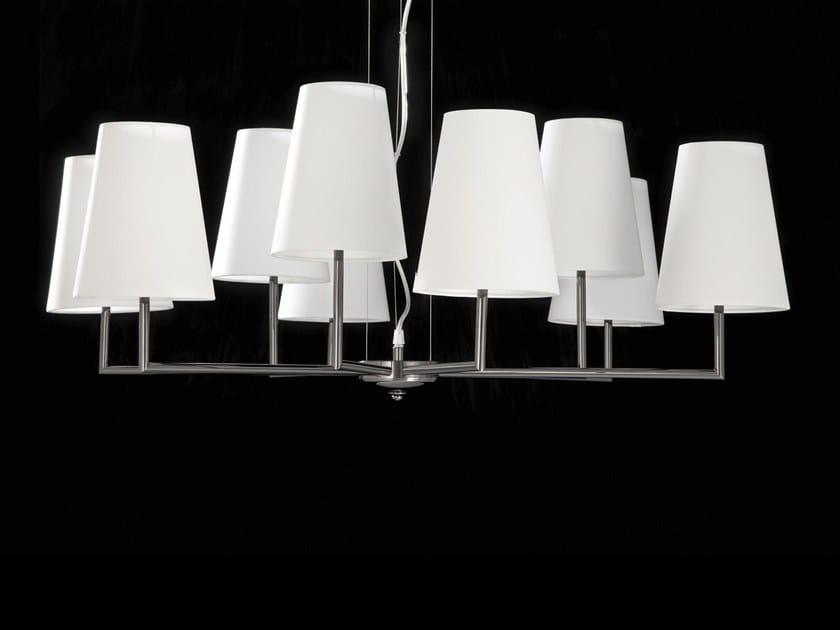 Lampadario a LED a luce indiretta METROPOLITAN | Lampadario by Aiardini