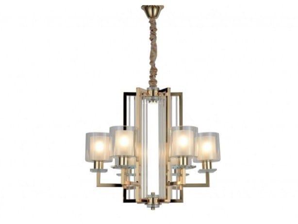 Lampadario a luce indiretta in metallo MANHATTAN   Lampadario by Arrediorg.it®