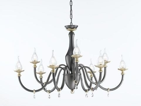 Chandelier with Swarovski® Crystals POESIA | Chandelier by IDL EXPORT