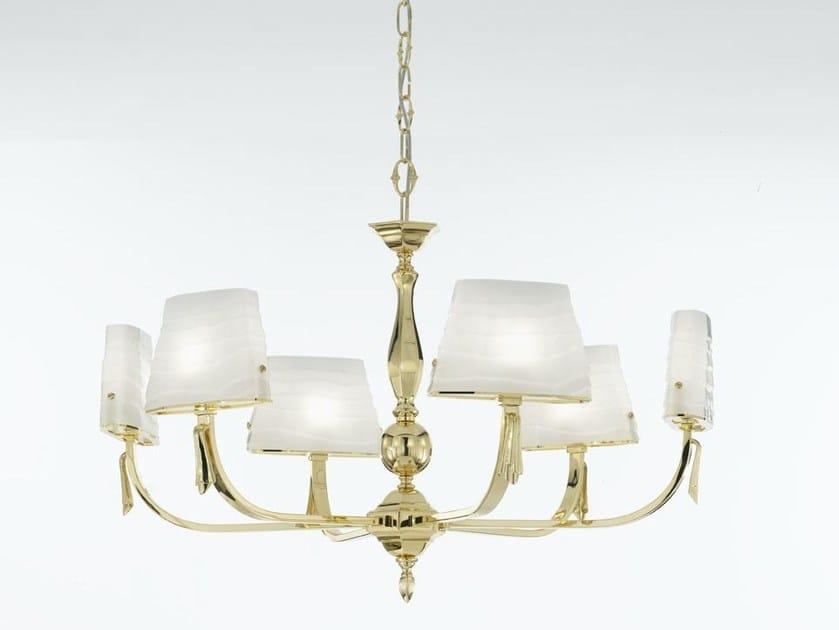 Indirect light chandelier BOHEME   Chandelier by IDL EXPORT