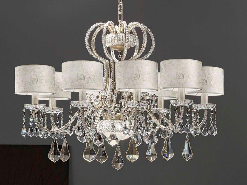 Direct light metal chandelier GALÀ | Chandelier by Masiero