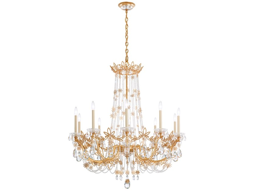Chandelier with Swarovski® Crystals FLORABELLA | Chandelier by Schonbek