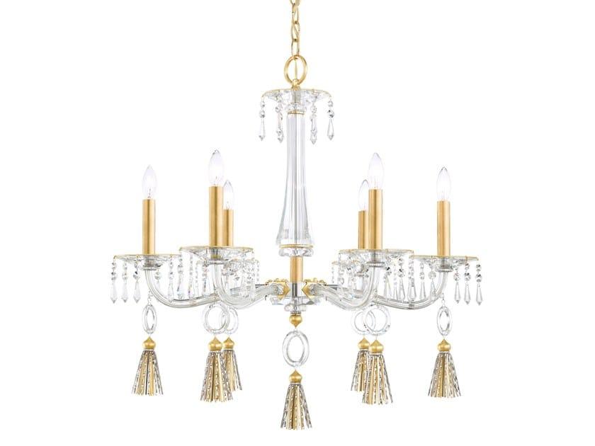 Metal chandelier with Swarovski® Crystals TASSAU | Chandelier by Schonbek