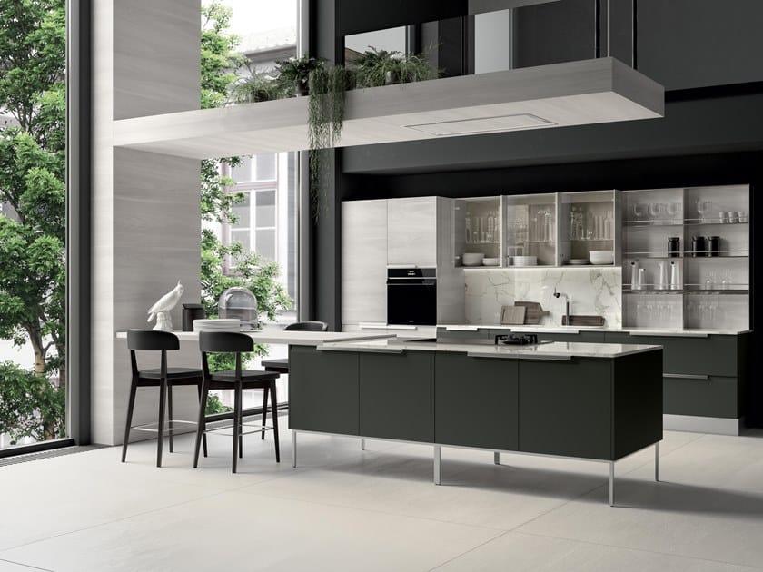 Cucina componibile con isola CHANTAL 02 By Febal Casa design Alfredo ...