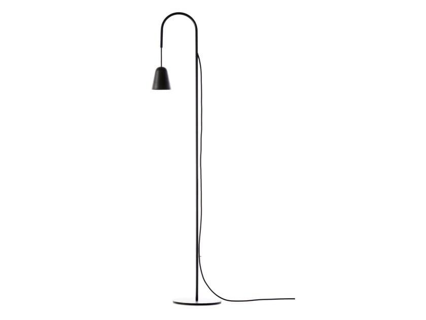 LED floor lamp CHAPLIN | Steel floor lamp by Formagenda