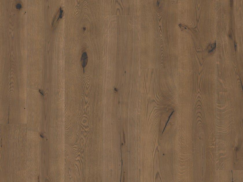 Brushed oak parquet CHARLESTON OAK by Pergo