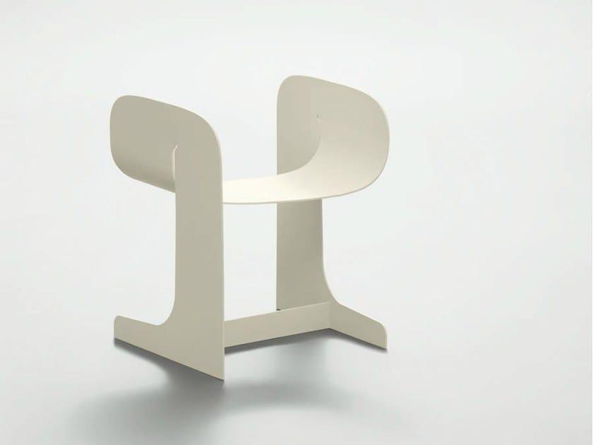 Metal stool CHARLIE by da a